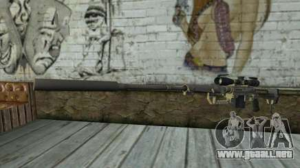 Rifle De Francotirador Cheytac M200 Intervention para GTA San Andreas