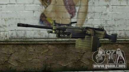 FN M249E2 SAW from SoF: Payback para GTA San Andreas