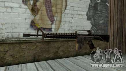 M16 from Beta Version para GTA San Andreas