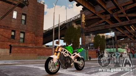 Kawasaki Ninja 636 Stunt para GTA 4
