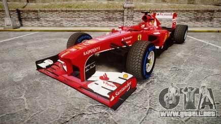 Ferrari F138 v2.0 [RIV] Massa TFW para GTA 4
