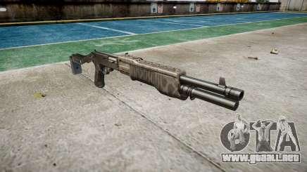 Ружье Franchi SPAS-12 Kryptek Tifón para GTA 4