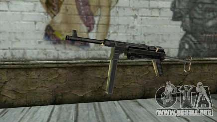 MP-40 from Day of Defeat para GTA San Andreas