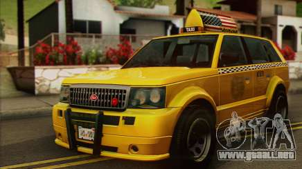 VAPID Huntley Taxi (Saints Row 4 Style) para GTA San Andreas