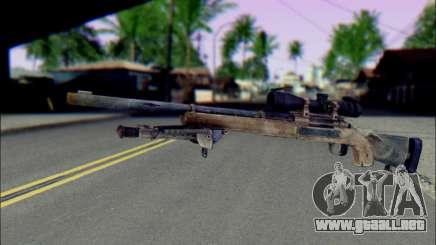 M24Jar rifle de Francotirador de SGW2 para GTA San Andreas