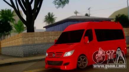 Mercedes-Benz Sprinter VIP para GTA San Andreas