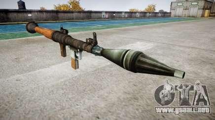 Portátil antitanque lanzagranadas (RPG) para GTA 4