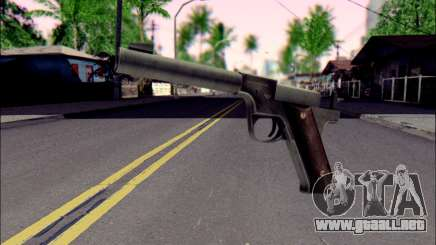 Silenced Pistol from Death to Spies 3 para GTA San Andreas