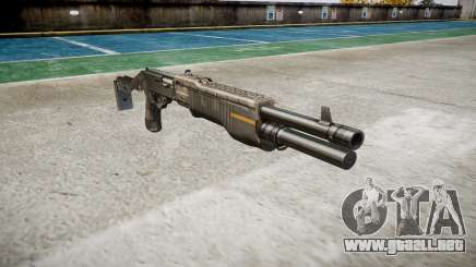 Ружье Franchi SPAS-12 CE Digital para GTA 4