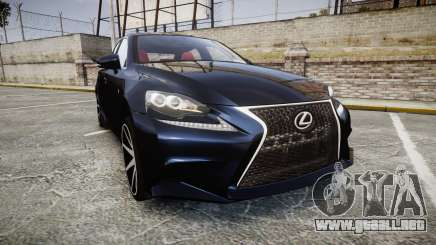 Lexus IS 350 F-Sport 2014 Rims2 para GTA 4