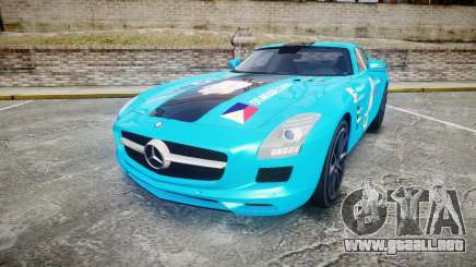 Mercedes-Benz SLS AMG v3.0 [EPM] Kotori Minami para GTA 4