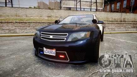 GTA V Cheval Fugitive LS Police [ELS] Slicktop para GTA 4
