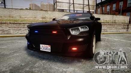 GTA V Bravado Buffalo Unmarked [ELS] Slicktop para GTA 4