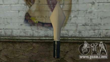 Knife from Cutscene para GTA San Andreas