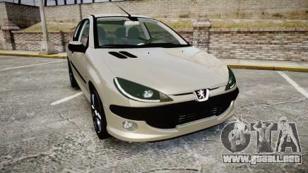 Peugeot 206 XS 1999 para GTA 4