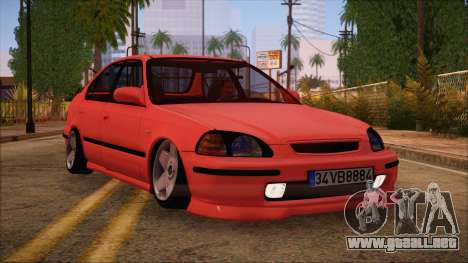Honda Civic 34 VB 8884 para GTA San Andreas