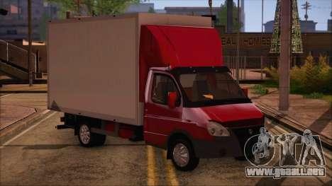 GAZel 3302 De Negocios para GTA San Andreas