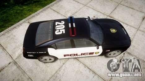 Bravado Buffalo Police LCPD para GTA 4 visión correcta