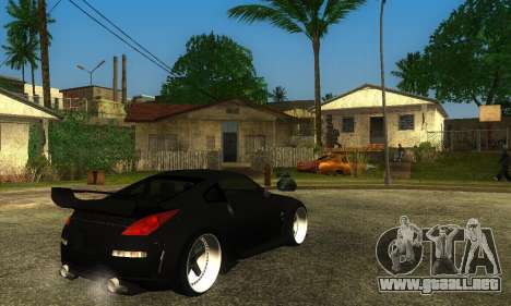 Nissan 350Z Drift para GTA San Andreas left