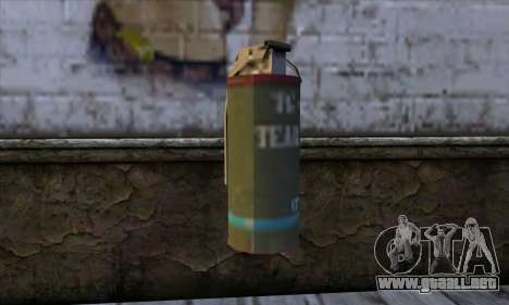 Smoke Grenade from GTA 5 para GTA San Andreas