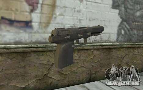 Five-Seven HD para GTA San Andreas segunda pantalla