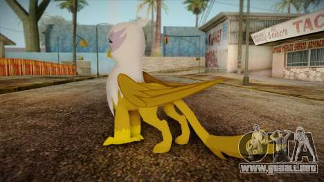 Gilda from My Little Pony para GTA San Andreas segunda pantalla