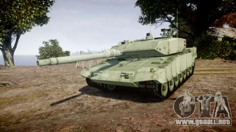 Leopard 2A7 AT Green para GTA 4