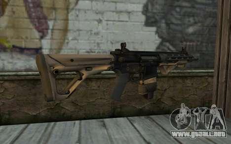 SIG-556 para GTA San Andreas segunda pantalla