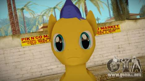 Flash Sentry from My Little Pony para GTA San Andreas tercera pantalla