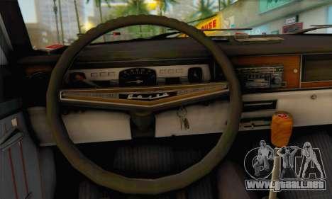 GAS 24-02 para GTA San Andreas vista posterior izquierda