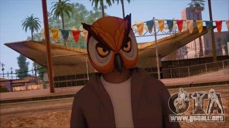 GTA 5 Online Skin 6 para GTA San Andreas tercera pantalla