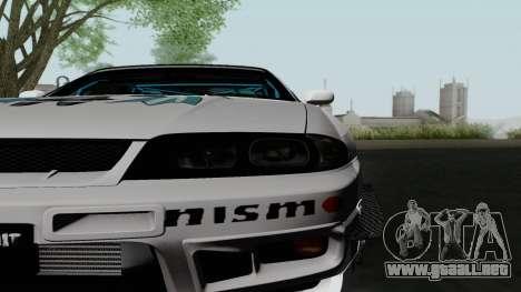 Nissan Skyline GT-R33 para la visión correcta GTA San Andreas
