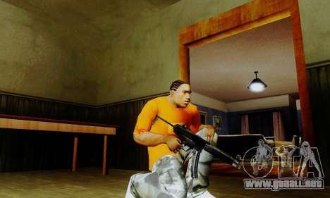 Weapon pack from CODMW2 para GTA San Andreas tercera pantalla
