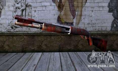 Chromegun v2 Apocalipsis para colorear para GTA San Andreas