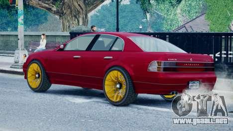 Intruder Sport para GTA 4 left