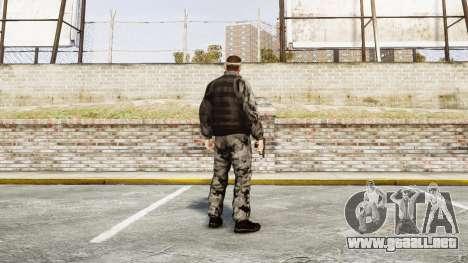 Medal of Honor LTD Camo2 para GTA 4 tercera pantalla
