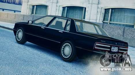 Primo Continental para GTA 4 left