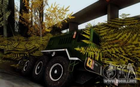 Pista de off-road 3.0 para GTA San Andreas segunda pantalla