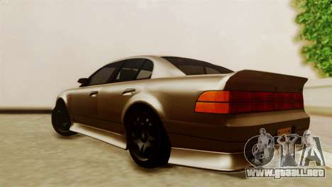 GTA 5 Intruder Tuning Bumpers para GTA San Andreas left
