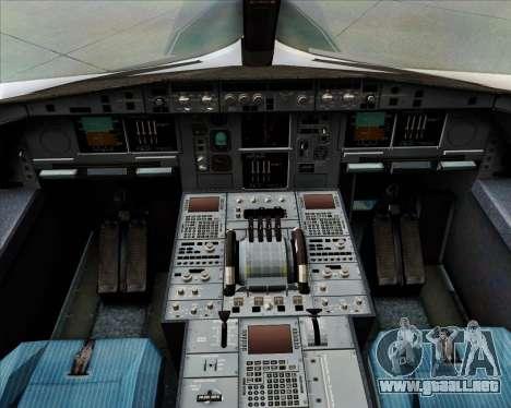 Airbus A380-800F Lufthansa Cargo para GTA San Andreas interior