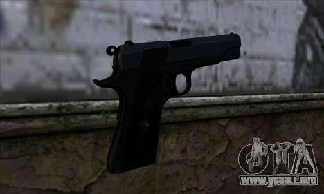 New Colt45 para GTA San Andreas segunda pantalla