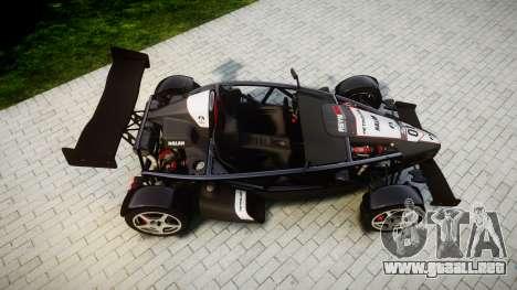 Ariel Atom V8 2010 [RIV] v1.1 AsymBon para GTA 4 visión correcta