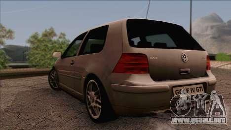 Volkswagen Golf Mk4 GTI para GTA San Andreas left