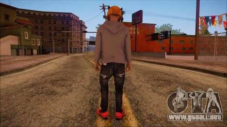 GTA 5 Online Skin 6 para GTA San Andreas segunda pantalla