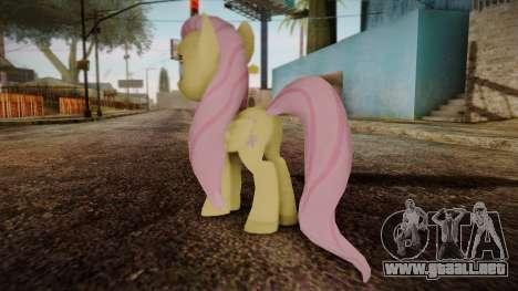 Fluttershy from My Little Pony para GTA San Andreas segunda pantalla