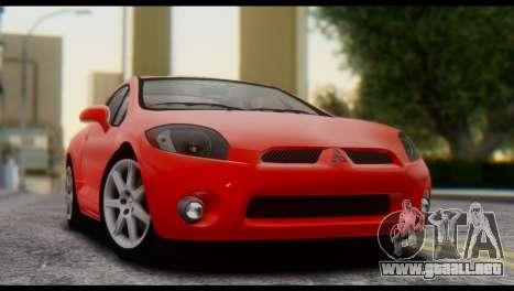 Mitsubishi Eclipse 2006 para la visión correcta GTA San Andreas