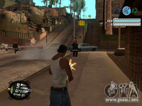 Respect C-HUD para GTA San Andreas tercera pantalla