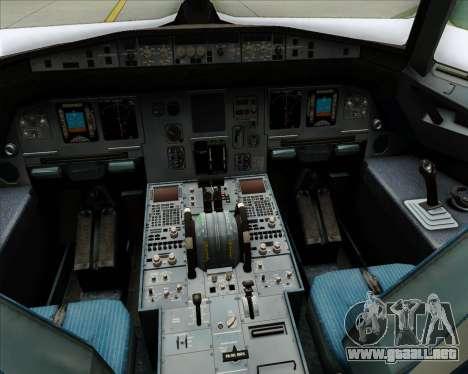 Airbus A320-200 Condor para GTA San Andreas interior