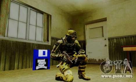 Weapon pack from CODMW2 para GTA San Andreas novena de pantalla