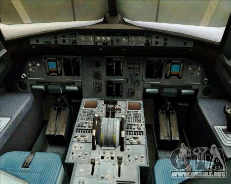 Airbus A320-200 JetBlue Airways para GTA San Andreas interior